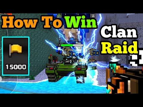 BEST & FASTEST Way To Get Clan Valor Points | How To Win Clan Raid In Pixel Gun 3D