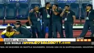 Ghana Vs Brazil Fifa U20 2009 Highlights Hd