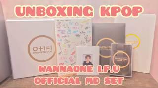 [UNBOXING KPOP] 워너원 WANNAONE I.P.U. OFFICIAL MD