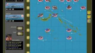 Pacific Battles - Turn based strategy game