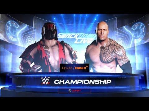 SBW SmackDown - Big Bad Wolf vs The Rock [SBW World Championship]