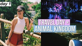 FIRST TIME IN PANDORA! + TRAVEL DAY // DISNEY WORLD VLOG #1