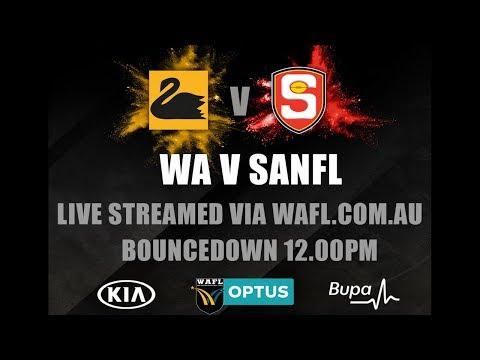 KIA WAFL State Game | WA V SANFL