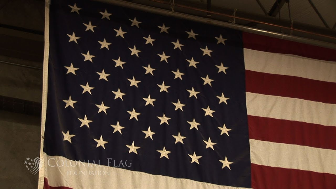 What Do The Colors Of The Us Flag Symbolize Youtube