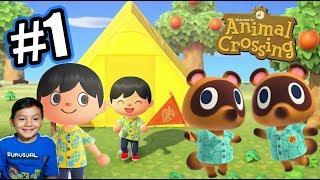 Mi Casa Nueva en la Isla | Animal Crossing: New Horizons Capitulo 1 | Juegos Karim Juega