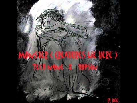 Tech N9ne ft Hopsin  - Monster (Creatures Lie Here) [ElDee]