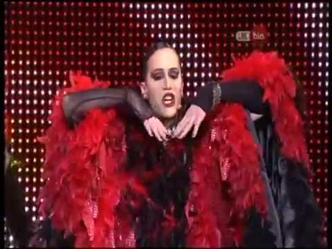 The Rocky Horror Show 2008 Helpmann Awards cast performance medley with iOTA & Gretel Killeen
