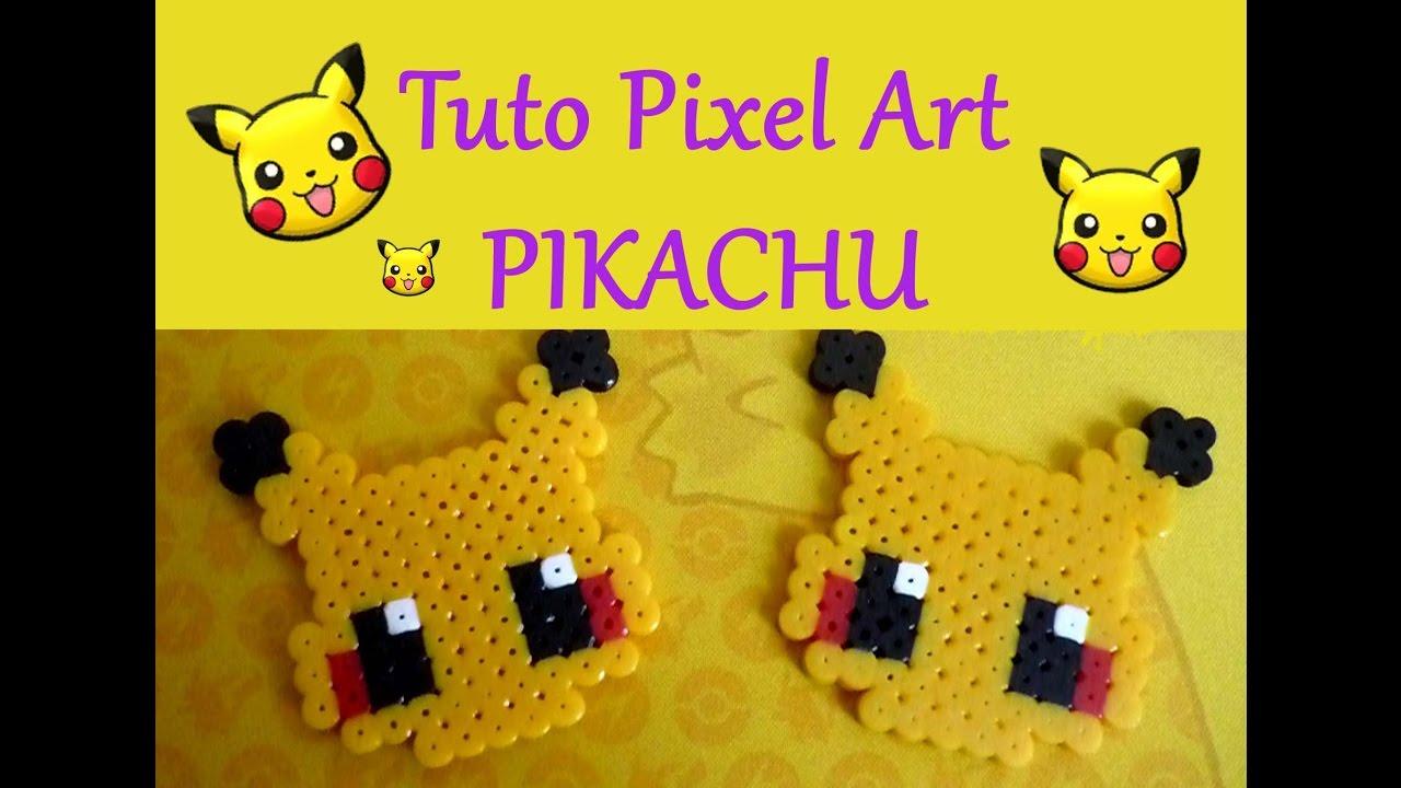 Tuto Pixel Art N8 Pikachu Pokemon