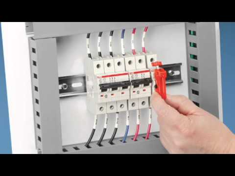 3 Phase Electric Motor Wiring Diagram Miniature Circuit Breaker Lockout Youtube