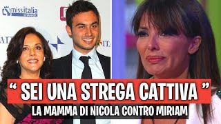 """la mamma di Nicola Pisu FUORIOSA contro Miriana Trevisan """" SEI UNA STREGA CATTIVA """" gfvip"""
