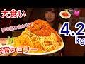 【大食い】夢の炭水化物コラボ!『ミートソース×ピラフ』がおいしすぎる【三年食太郎】