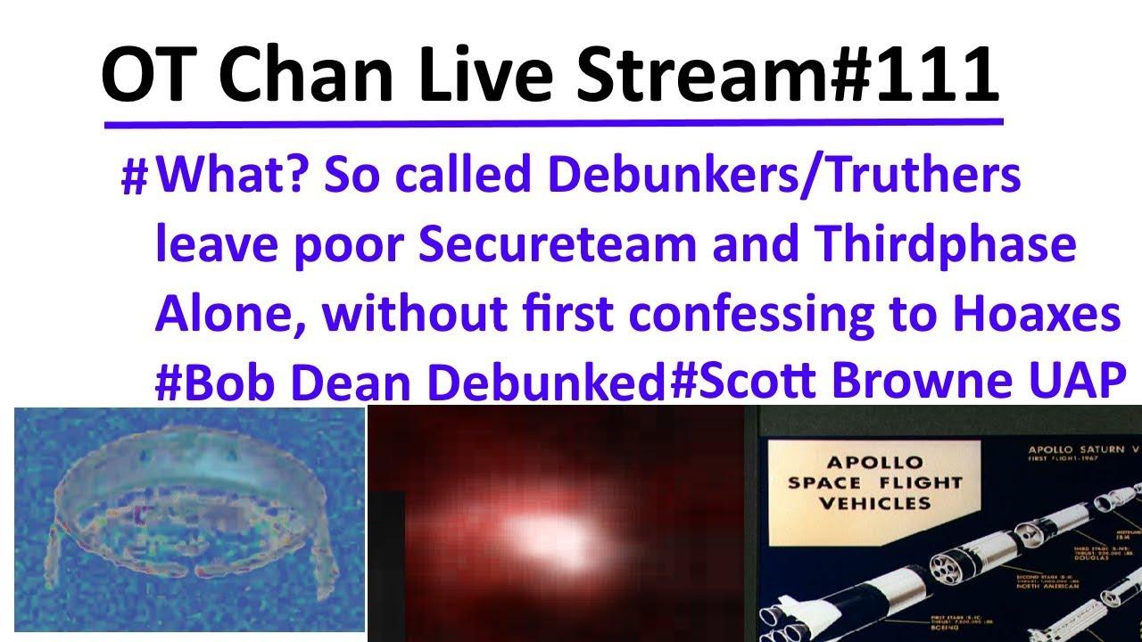 Sun 7pm NZ UFO Live Show (Crazy UFO world and UFO vids)- OT Chan Live Stream#111