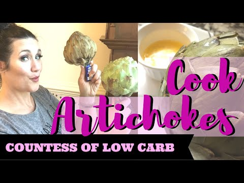 how-to-cook-artichokes-👑-easy-keto-recipe-keto-meal