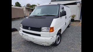 (SOLD) Non Runner - Cheap - VW Transporter T4 Van Diesel 5 Speed Manual 1999 Review