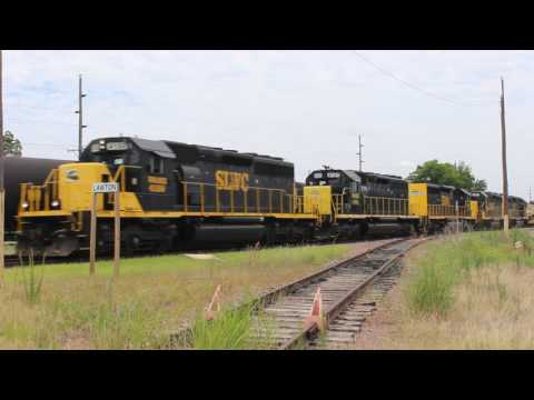 NB SLWC freight, downtown Lawton, Ok 6.19.2017