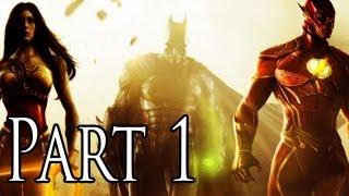 Injustice Gods Among Us Walkthrough - Part 1 - Batman - Demo Walkthrough  [XBOX 360/PS3/PC/GAMEPLAY]