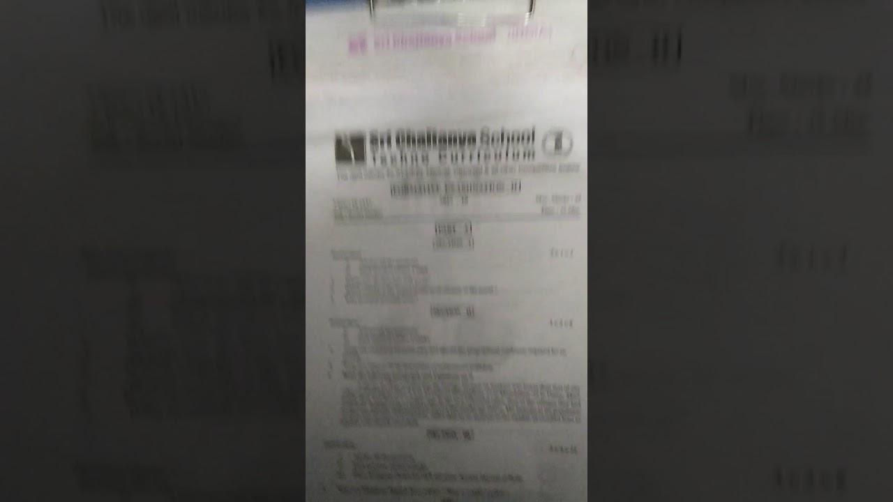 Sri Chaitanya exam papers