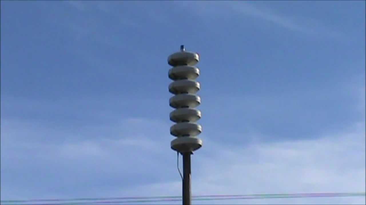 ahab tsunami siren drill