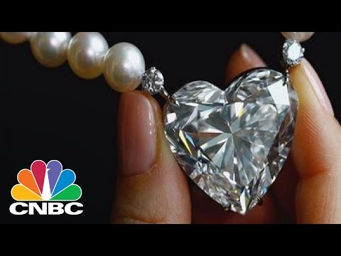 Heart-Shaped Diamond Sells For Over $13 Million Dollars | CNBC
