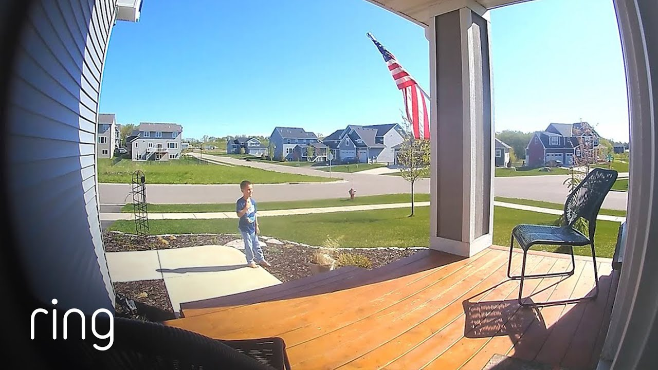 Son Shares a Patriotic Moment With Dad   Neighborhood Stories