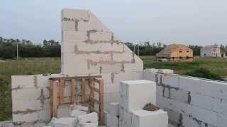 Мансарда, второй этаж, день 8, строители закончили(Строители закончили, осталось мне напилить Газобетона из халявных кусков, которых полно вокруг и не только..., 2013-07-31T17:54:23.000Z)