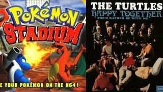 Pokémon Stadium - Super Smash Bros. Melee & Happy Together - Turtles (FLP)