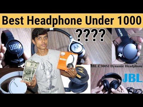 Best Headphones Under 1000 - JBL Vs SONY Vs MOTOROLA Vs PHILIPS