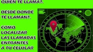 LOCALIZADOR DE LLAMADAS ESTILO POLICIA - GRATIS