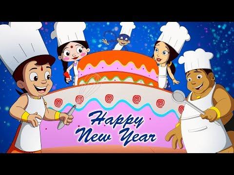 Chhota Bheem - Happy New Year Full Video | Best Cartoon Videos For Kids