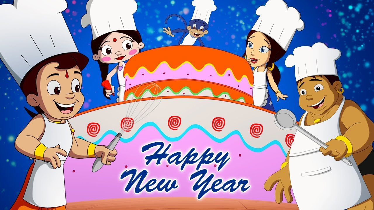 Chhota Bheem - Happy New Year Full Video | Best Cartoon ...