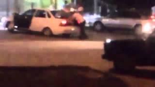 Ахтубинск   Девушку погрузили в багажник Приоры