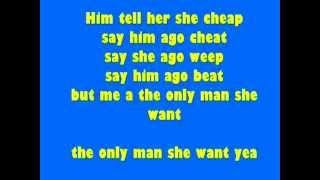 only man she want   popcaan lyrics