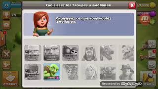 Présentation d'un clan(exo du 2) clash of clans