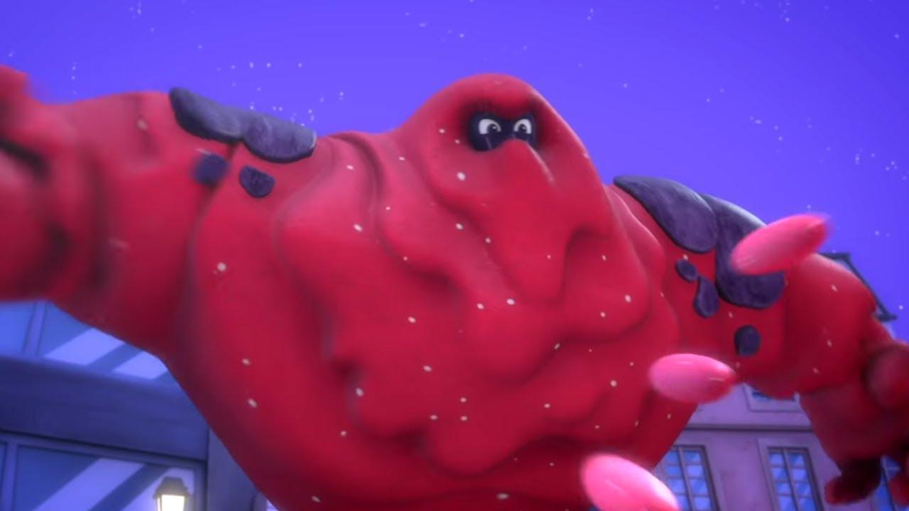Ganze Folge: Das Klebeklatscher-Monster 🌟Neu 🌟 PJ Masks Deutsch   Cartoons für Kinder   Pyjamahelden
