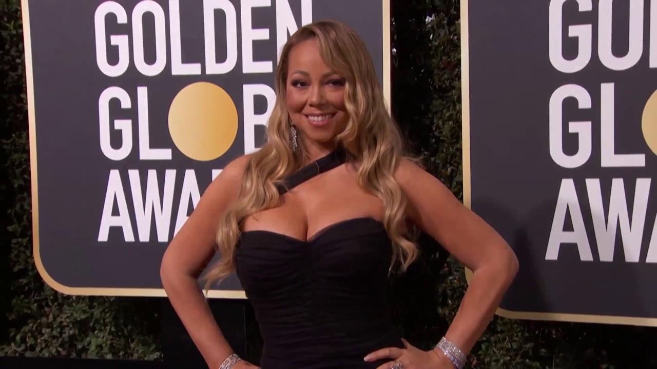 Mariah Carey Golden Globe Awards Fashion Arrivals (2018)