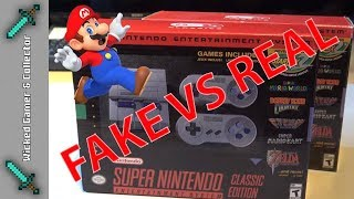 Ultimate Nintendo SNES Mini Classic / 1 on 1 Fake  Console / Unboxing, Testing & Review