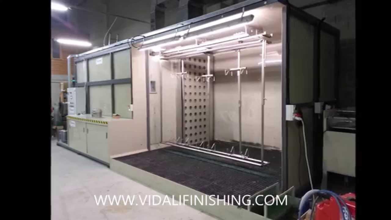 Sverniciare Il Legno By Vidali Finishing Impianto Automatico