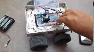 ESP8266 Controlled Car / RC Bot (WiFi Internet-of-Things IoT) by SHiRiSH