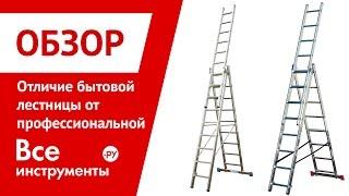 Стремянки. Чем профессиональная лестница отличается от бытовой(, 2013-08-22T10:41:34.000Z)