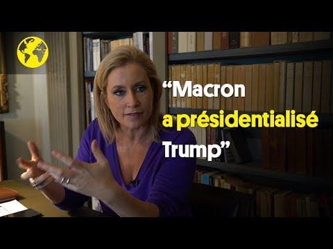 """Mellissa Bell : """"Macron a présidentialisé Trump"""""""