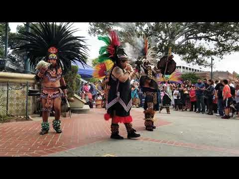 Xipe Totec Aztec Dancers - Placita Olvera