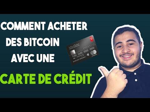 Comment acheter des bitcoin avec une carte de crédit ?