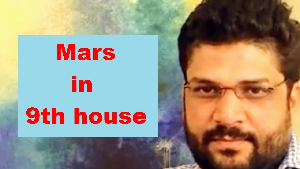 Mars in 9th house of birth chart