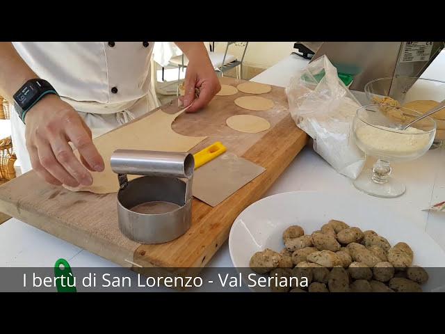 Prodotti tipici: i bertù di San Lorenzo