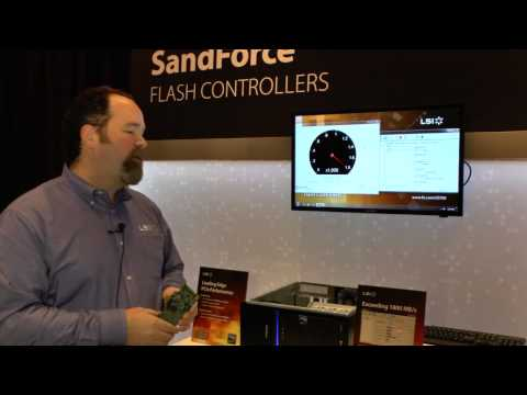 LSI's Kent Smith talks SF3700 controller and tests at 1800 MB/s