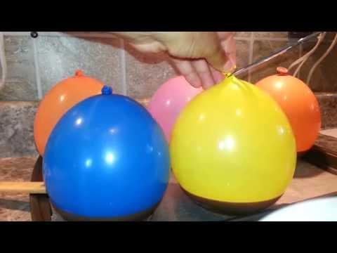 HOW TO MAKE CHOCOLATE BALLOON BOWLS..sorta!