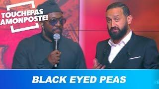 Cyril Hanouna tente de parler anglais avec les Black Eyed Peas !