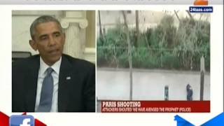 America President Barak Obama On Paris France Terrorist Attack