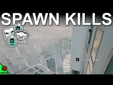 How To Spawn Kill On Tower - Rainbow Six Siege Operation White Noise