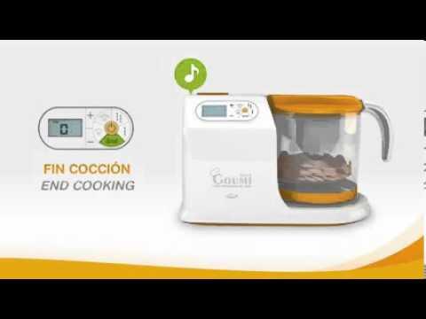 Robot de cocina jan mini goumi prepara comida de tu bebe for Robot cocina bebe opiniones